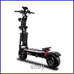 2021 New 13 inch tire electric scooter LED acrylic pedal 8000w dual motor 50Ah