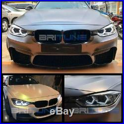 3D Acrylic Crystal LED SMD Angel Eyes Halo Kit For BMW 2 3 4 Series F30 F80 M2