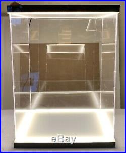 Acrylic Display Case LED Light Box for 12 1/6th Scale Hot Toys Gundam Figures