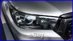 Acrylic Protectors Covers Head Light For Toyota Hilux Revo 2015 2018 (led)