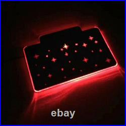 Autopan Customized Animation LED amtosphere Light Floor Carpet Pad Mat For Ford