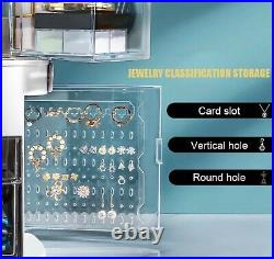 Bulk CLEARANCE SALE! 19 X Makeup and Jewellery box organiser with LED Mirror