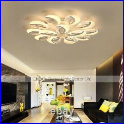 Ceiling Chandeliers Home Light Modern LED Bubble Shade Acrylic Warm Cool Light