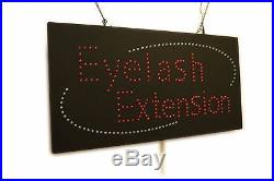 Eyelash Extension, High Quality LED Sign, Store Sign, Business sign, Window Sign
