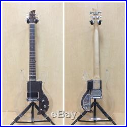 Haze HSE-025 Clear Acrylic See-Thru Electric Guitar, LED Lights in Body+Free Bag