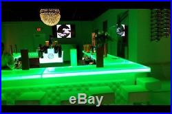 Home Bar Furniture, 12x24x3, LED Bar Top, Sold By The Foot