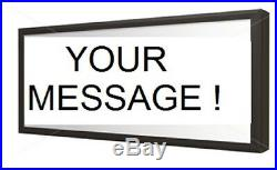 LED ATTORNEY AT LAW Signs light Box SIGNS 12''x30x2'
