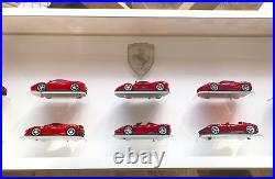 LED Acrylic Wall Display Case Unit for 1/43 Scale Model Cars, 14 cars