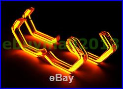 M4 Style Crystal WH&YE Concept Iconic Light Halo Rings For BMW M3 M5 Angel Eyes