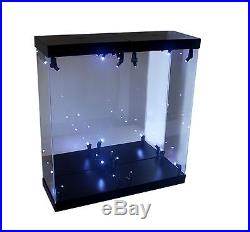 MB-2A Acrylic Display Case LED Light Box for two 12 1/6th Scale IRON MAN Figure