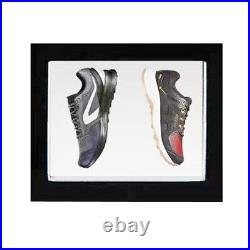 Magnetic Levitating Rotating Floating Pair of Shoe Display Stand LED Shelf Stand