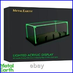 Metal Earth LED Light Display Stand Case Cabinet 118 Diecast 3D Models Games