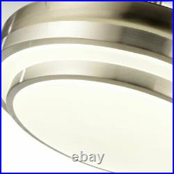 Modern Invisible Fan Chandelier 36 LED lights Ceiling fan with remote Control