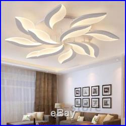 New Acrylic Modern Led Ceiling Lights Living Study Room Ceiling Lamps Chandelier