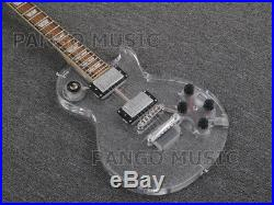 Pango Music Acrylic body LP Electric Guitar with colorful LED Light (PAG-018)