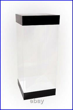 Popcultcha Collection Protection Deluxe LED Lit 19 Acrylic Display Case