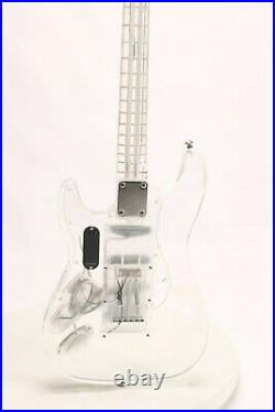 ST LED Electric Guitar Full Acrylic Body&Neck 3S Pickups Free Shipping