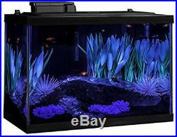 Tetra 20 Gallon Complete ColorFusion Aquarium Kit with Filter Heater LED & Plants