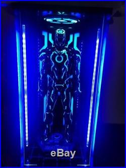 Toys-Box LED Light Acrylic 1//6 Hall Of Armor Clear Board For Neon Iron Man MK4