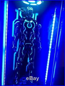 Toys-Box LED Light Acrylic 1/6 Hall Of Armor Clear Board For Neon Iron Man MK4