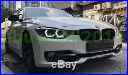 WH M4 Style Crystal Concept Iconic Light Halo Rings For BMW M3 M5 Angel Eyes DRL