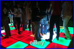 Wireless Acrylic RGBW LED Dancing Floor for event, party or wedding